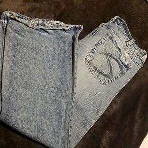 My favorite Jeans! Old School Silver Tia